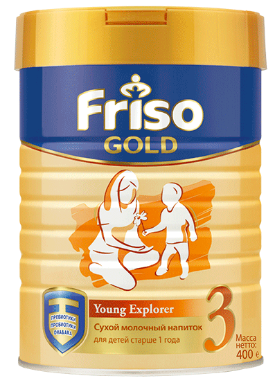 Friso Gold 3, 400 г
