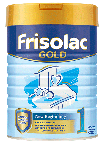 Frisolac Gold 1 800г